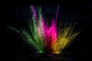 Bold Colour Explosion